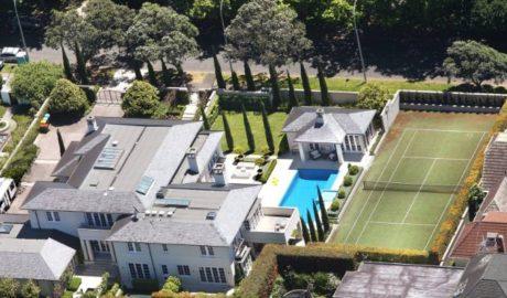 Sir John Key's mansion