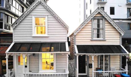 Tiny kauri cottage