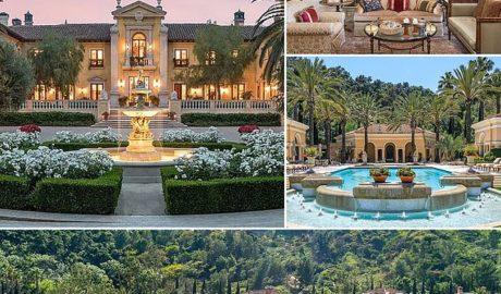 Beverly Hills mega mansion
