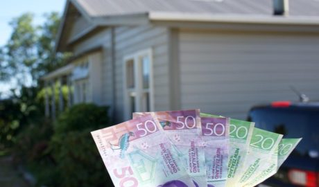 Average NZ house price