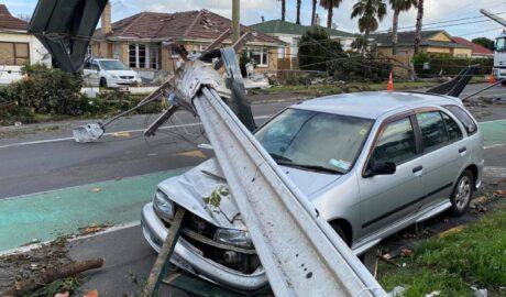 Auckland tornado