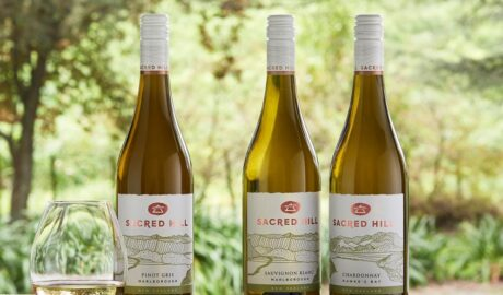 Sacred Hill wine