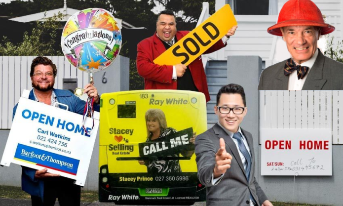 New Zealand's best real estate agent ads
