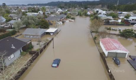 West Auckland flooding